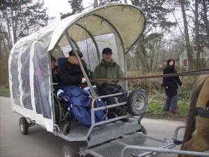 Attelage adapté handicap
